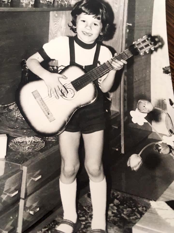 Laps ja kitarr