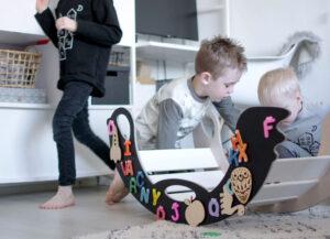 puidust magnetkiik lapsele
